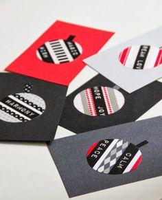 CIRKUS: DIY - christmas cards // washi masking tape