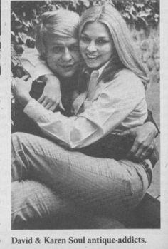 David Soul, Karen Carlson - Tiger Beat - October, 1969