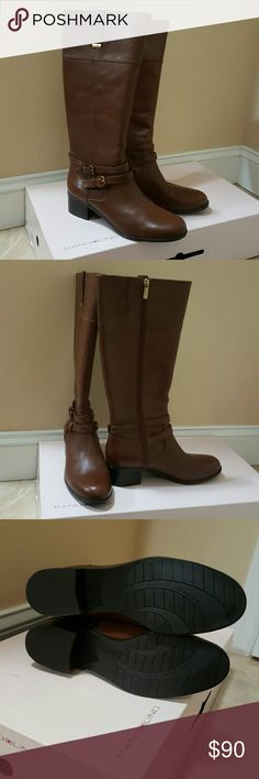 "'Final Price Cut' Bandolino Brown Riding Boots Brand new still in the box. 2"" heel Bandolino Shoes Heeled Boots"