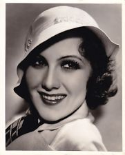 MARY BRIAN Beautiful ORIGINAL Vintage 1933 HURRELL Stamped DBW Portrait Photo