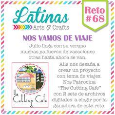 Latinas Arts and Crafts: Reto #68: Nos vamos de viaje.