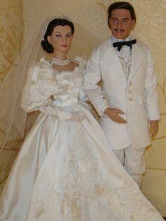 About Rhett and Scarlett: Clark Gable as Rhett Butler2009 and Scarletts Wedding Day