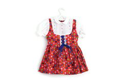 Vintage Toddler Dress Little Girls Retro Dress by WillowsRoom