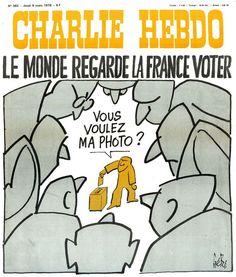Charlie Hebdo - # 382 - 9 Mars 1978 - Couverture : Gébé