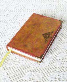 Leather Journal Diary Rustic Notebook Birthday Gift by AnnaKisArt #leatherjournal, #notebook, #giftforhim, #giftforgirlfriend, #traveljournal, #giftforboy, #writingjournal, #rusticjournal, #journaldiary, #leathergift, #diary, #birthdaygift, #christmasgift,