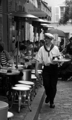 Cafe, Monmartre, Paris