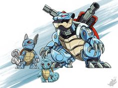 Pokémon Make For Badass Mecha