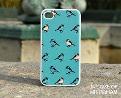 iPhone Case  Bird Illustration Pattern on by TheCaseOfMrPelham, $16.99