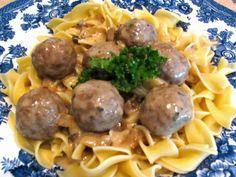 Rita's Recipes: Crock-Pot Meatballs Stroganoff