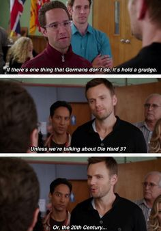 Six seasons and a movie! Community Memes, Community Tv Show, Community College, Comedy Tv, Comedy Show, Tv Times, Tv Quotes, Best Shows Ever, Best Tv