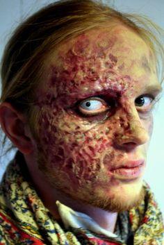 handsome burn makeup - Halloween Effects Makeup