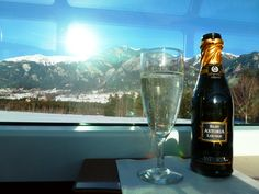Cheers from the Glacier Express, Switzerland!
