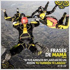 Eh.. Pues qué te dijera Mamá 😅 ¡La pasión por la #adrenalina puede más! ⚡️👊✖️ #XieloSkydive #SaltaSeguro #SaltaConXielo #Skydiving #Flandes #Colombia