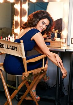 "Bellamy Young: A shapely woman shouldn't let her hair grow too much past her shoulders. You want to see her curves! ""Being a Southern girl,"" Ken says, ""Bellamy really likes big hair""—which, happily, looks just right with her voluptuous shape."