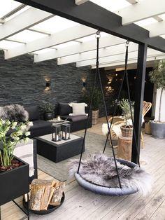Backyard Patio Designs, Diy Patio, Cozy Backyard, Backyard Projects, Garden Projects, Outdoor Rooms, Outdoor Living, Outdoor Patios, Outdoor Bedroom