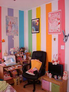 kawaii rooms corner cgl flickr wall desk messy egl cosplay