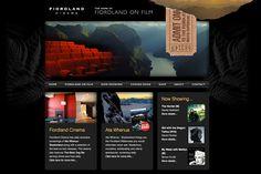 Fiordland Cinema Website Design – MacStudio Design, Web, Print