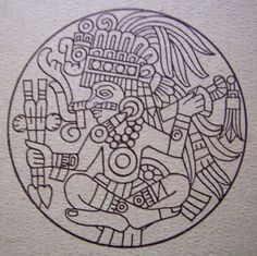 Aztec War God | aztec god