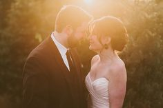 Terrain Winter Wedding by Lauren Fair Photography - via ruffled