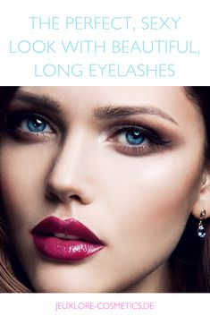 CARE MAKES SENSE IN THE LONG TERM. #eyelashes #lashes #makeup #eyemakeup #beauty Latest Makeup, Longer Eyelashes, Makeup Videos, Makeup Inspiration, Eye Makeup, Hair Beauty, Skin Care, Board, Sexy