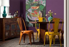 An Eclectic Dining Room