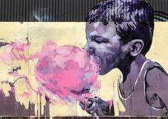 Lost Melbourne Street Art. Gone but not forgotten.   Thirty Summers. Taylor White street art, , street art Melbourne, Fitzroy street art.