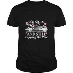 I Love Anniversary Gift 44 years Wedding Marriage SHIRT T shirts