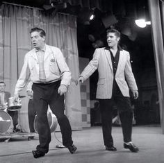 Remembering Milton Berle on his birthday. Elvis was on the Milton Berle Show twice. (July 12, 1908 - March 27, 2002)