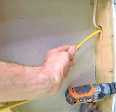 house repairs,home repair ideas,fix your home,home maintenance tips Home Electrical Wiring, Electrical Cable, Electrical Engineering, Electrical Inspection, Electrical Projects, Electrical Installation, Electrical Outlets, Rewiring A House, Handyman Projects