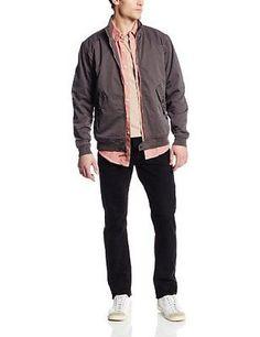 Men's True Grit Dylan Zip Jacket Vintage Black Size Large L NEW $165