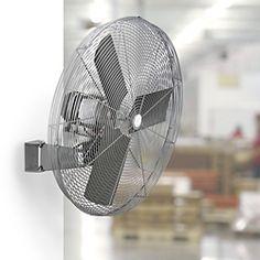 Oscillating Fan, Wall Mount Fan in Stock - ULINE
