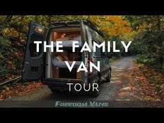 """Kyleigh Rogers from Freedom Vans gives a tour of """"The Family Van"""", a Sprinter for a family of It has an electric bunk bed, dinette seating, a kitchen. Van Conversion Layout, Cargo Van Conversion, Van Conversion Interior, Sprinter Van Conversion, Camper Van Conversion Diy, Van Interior, Sprinter Camper, Benz Sprinter, Mercedes Sprinter"""