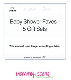 Such a wonderful giveaway for any parent and an amazing number of entries! #bitzybaby greenscenemom.com