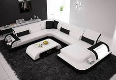 Sales Sofa Sets Luxury Furniture Set Genuine Leather Sofas For Living Room Modern Sofa U Shape Leisure Divany Furniture Sets Sofa Set Designs, Sofa Design, Upscale Furniture, Luxury Furniture, Leather Furniture, Furniture Online, Quality Furniture, Modern Furniture, Furniture Sets