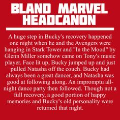 I really wanted to see first avenger Bucky and Steve dancing that night before he left :/
