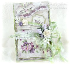 My Little Craft Things: Pion Design - Lavender Birthday Vintage Cards, Vintage Paper, Happy Easter Wishes, Card Creator, Estilo Shabby Chic, Shabby Chic Cards, Ppr, Beautiful Handmade Cards, Mothers Day Cards