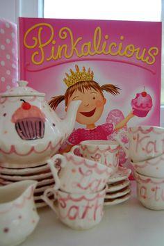 Pinkalicious tea party! For jocie!
