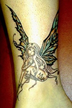Arm Fairy Tattoos For Girls Picture 7