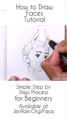 How to Draw Female Faces: Step by Step Tutorial for Beginners Learn how to draw ...