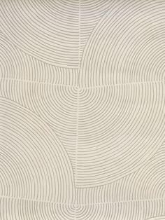 Volutes in Concentric Wallcoverings from Holland and Sherry Patterns In Nature, Textures Patterns, Color Patterns, Print Patterns, 3d Texture, Textured Wallpaper, Textured Walls, Pattern Illustration, Minimal Design