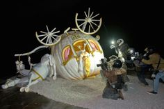 """""""Dismaland"""": Banksy's New Art Exhibition on Display in a Macabre, Disney-Inspired Theme Park - My Modern Met"""