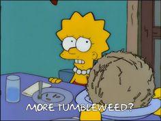 More tumbleweed?