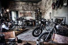 Man Cave Garage Inspiration