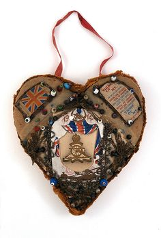 Pincushion, bought by Tom Akers, Royal Horse Artillery, as a souvenir for his wife, Violet © Museums Sheffield