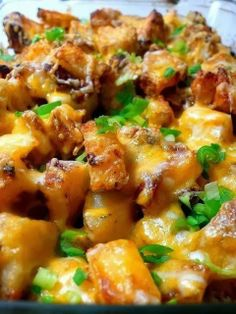 Edye in Newfoundland: Roasted Ranch Potatoes with Bacon and Cheese