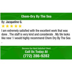I am extremely satisfied with the excellent work that was done . The staff is very kind...