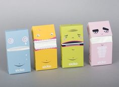 The Curious Brain » packaging design