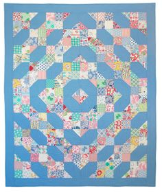Purchase kit here to make this quilt.
