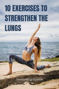 Exercises that will help you strengthen your lungs, improve your lung health, and maintain healthy lung function as you age. Includes breathing exercises and physical exercises that are good for the lungs. Life Is Hard Quotes, Spiritual Health, Mental Health, Physical Fitness, Physical Exercise, Breathe Easy, Diaphragmatic Breathing, Alternative Health, Health Motivation