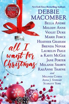 """Brenda Novak's latest """"digital box set for a cure,"""" ALL I WANT FOR CHRISTMAS, is a contemporary romance collection of delightful and romantic Christmas stories. It features Brenda's Ri…"""